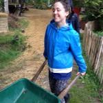 Yogiskt trädgårdsarbete