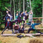 Punk Rock & Soil Yoga camp