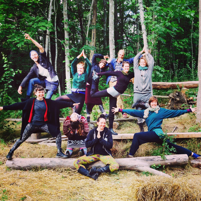 Punk Rock & Soil Yoga camp